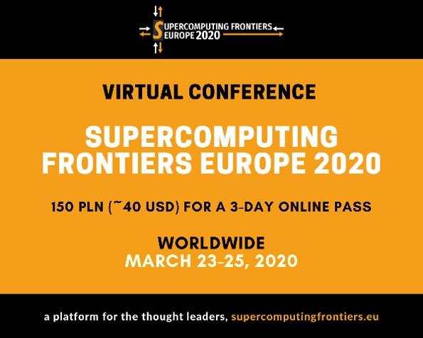 SUPERCOMPUTING FRONTIERS EUROPE 2020
